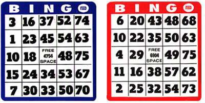 75 and 90 ball Bingo