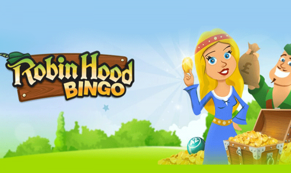 Robin Hood Bingo – Join and get £40 Bonus!