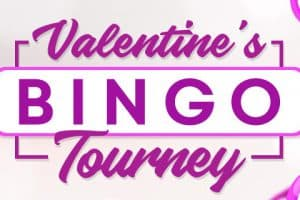 Valentine's Bingo Tourney – Fall in love with Cyber Bingo games!